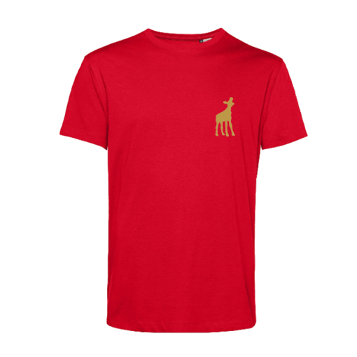 t-shirt red kalf